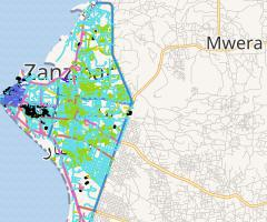 Zanzibar Urban West Road Network